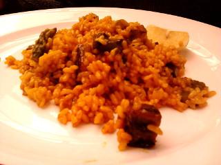 Paella de verduras Can Bep Menorca