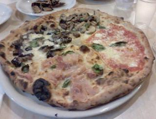 La pizza Quattro Gusti de Dal Presidente